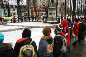 Idle No More Rally, Victoria Park
